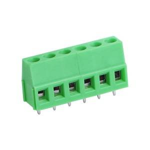 5.08mm 5.0mm pitch Electrical Green Pcb Screw Terminal