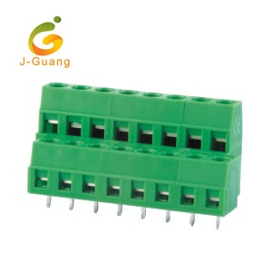Good User Reputation for Female Connector Pins - 127A-5.0 5.08 Good Quality Green Plastic Terminal Block Connectors – J-Guang