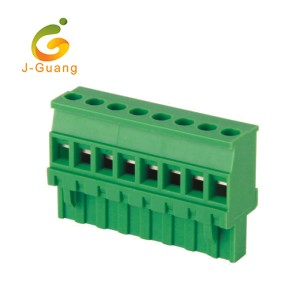 Fixed Competitive Price Ic Socket 8 Pins - Factory directly Din Rail Screw Telephone Wire Waterproof Terminal Block – J-Guang