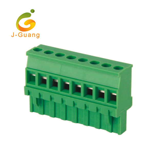 Fixed Competitive Price Ic Socket 8 Pins - Factory directly Din Rail Screw Telephone Wire Waterproof Terminal Block – J-Guang Featured Image