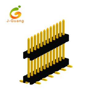 Manufacturing Companies for Wafer Connectors - JG131-E 1.27mm Board Spacer Single Row Smt Type Pin Connector – J-Guang