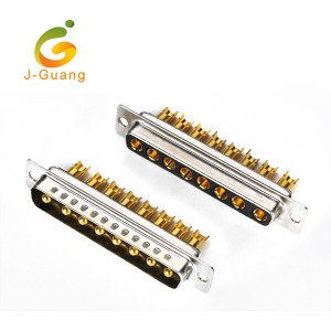 Good quality Electronic Connectors - JG133-I Machine Pin Solder Type 8P 8w8 D-sub  – J-Guang