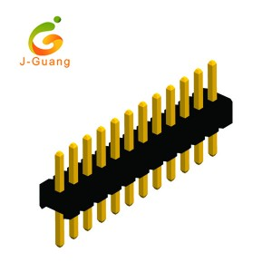 Quality Inspection for Db9 Adapters - Pin Header, JG131-A, single row straight pcb header connectors – J-Guang