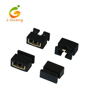 JG128 2.0mm 2 Pin Black Color Mini Jumper