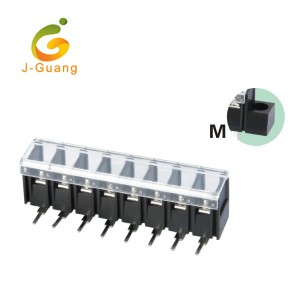 Excellent quality Solderless Breadboard - 28R-7.62 7.62mm Single Row Wago Terminal Blocks with Cover – J-Guang