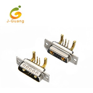 China Cheap price Jst Xh Connectors - D-SUB, JG134-D, machine pin d-sub r/a type (5+2) 7w2 – J-Guang