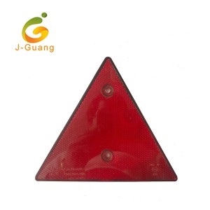 OEM Customized Triangle shape Reflectors with 2screws widely used for auto truck trailer