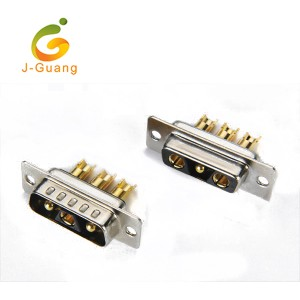 Newly Arrival Pin Header Female - JG133-F Machine Pin Solder Type (2+1) 3V3 Db9 Connector – J-Guang