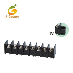 Factory wholesale Pluggable Terminal Blocks - 35C-8.25 PA66 UL 94V-0 Brass Tin Plated Terminal Terminal Connectors – J-Guang