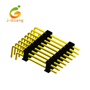 Hot Selling for Screw Terminals - JG129-E 2.54mm Dual Row Right Angle Pin Connector – J-Guang