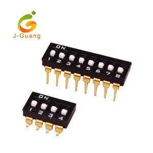 JG140-A Black Color Smt & V/T Type Dip Switches