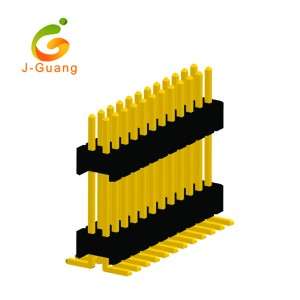 China Gold Supplier for Male Header Pins - JG131-J 1.27mm pitch Dural Row Smt Type Male Header Pins – J-Guang