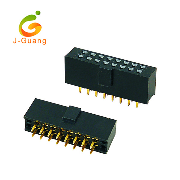 Quality Inspection for Db9 Adapters - female header, JG123-B, pitch 2.54mm type female connectors – J-Guang
