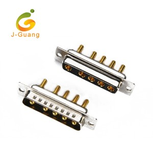 JG134-T 5W5 High Current Solder Straight Power D sub connector
