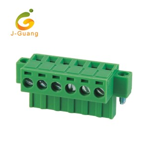 OEM/ODM China M20 Connectors - 2EDGKM-5.0 5.08 Phoenix Contact Replacement Pluggable Terminal Blocks – J-Guang