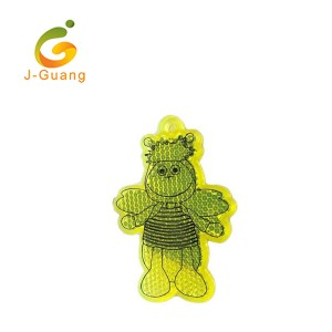 JG-K-08 OEM Bee Shape Children Pedestrian Safety Reflectors