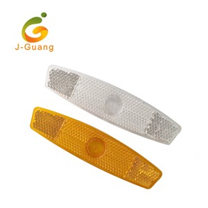 JG-B-02 PMMA PS AS Plastic Bicycle Wheel Reflectors