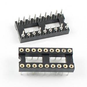 Manufacturer 1.778/2.54/2.0mm Pitch PCB Adapter IC Socket 8pin
