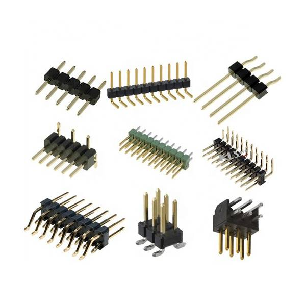 1.27mm 2.0mm 2.54mm Pitch single row Male 40 Connector Pin Header Featured Image