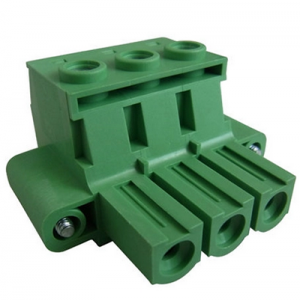 10.16mm 2EDGRK PCB M3 screw brass cage plug-in terminal blocks