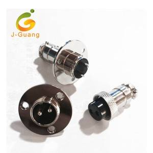 Best Selling Quality Zinc Alloy Nickel Plating Shell Round Shell Connectors
