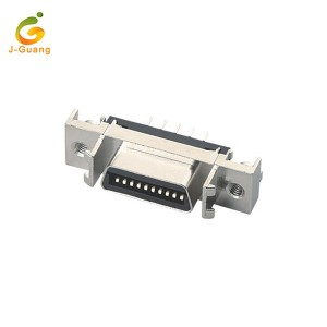 JG200-A Sgsi 20p Female Straight SCSI Cable Connector
