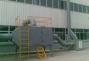 Organic waste gases treatment equipment