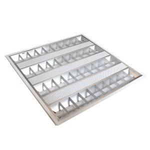 Recessed akatungamirira Louver Fitting