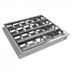 40W Recessed Louver Fitting with LED Tube