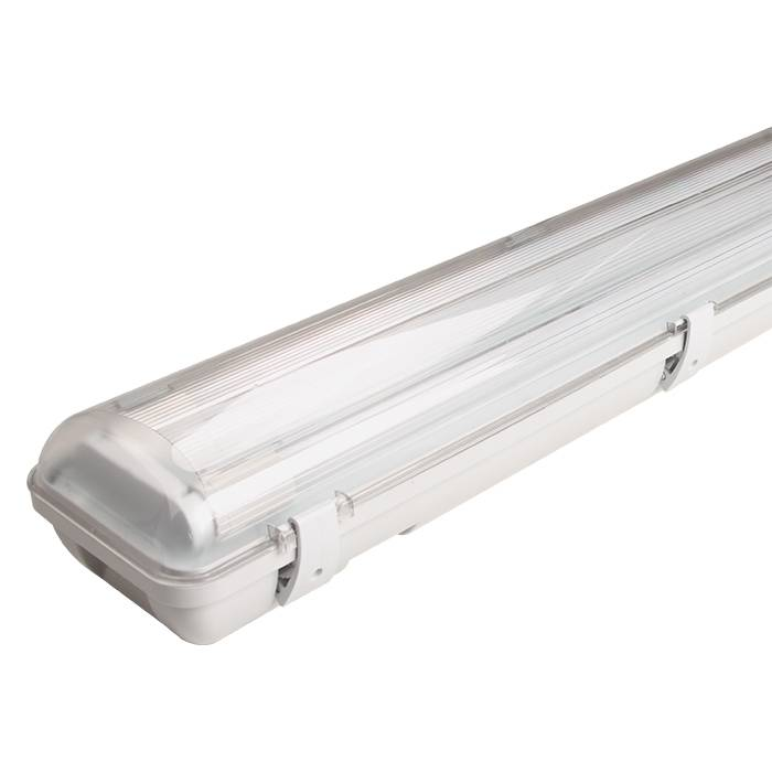 Waterproof Fitting with LED Tube-Lighting Fixture