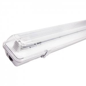 Waterproof Fitting with LED Tube-Lamp Fixture