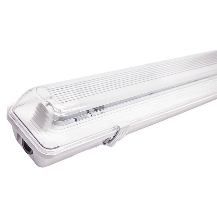 Waterproof Fitting with LED Tube-Waterproof Lighting