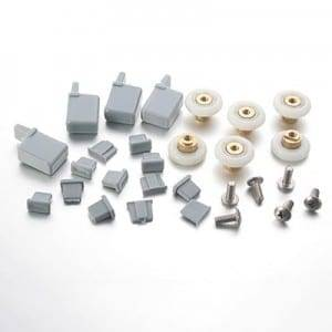 HS017 19mm shower door rollers for Bi-fold door