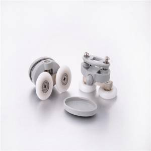 HS-077 Shower sliding door nylon rollers