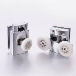 HS-070 China Manufacturer Shower Enclosure Sliding Glass Shower Door Rollers For Shower Cubicle