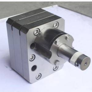 Melt blown cloth extruder metering pump gear pump