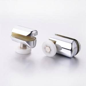 HS069 Shower Door Chrome Plated ABS Plastic Roller Wheels
