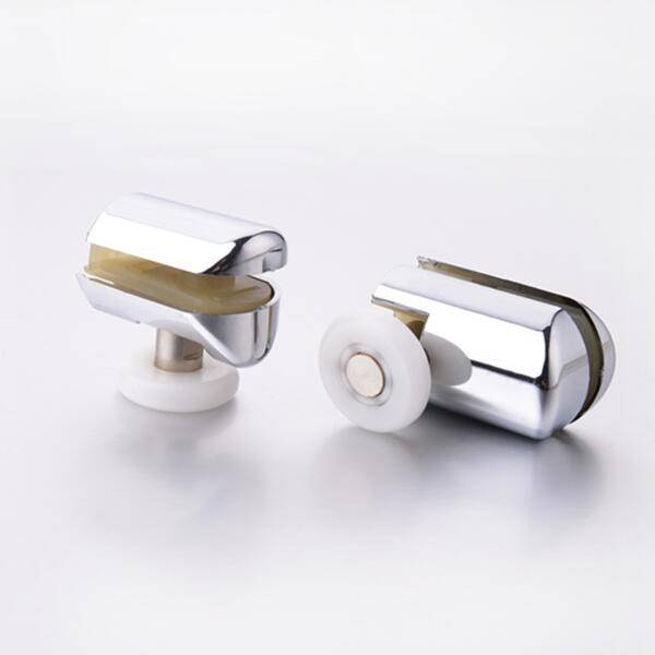 HS069 Shower Door Chrome Plated ABS Plastic Roller Wheels Featured Image