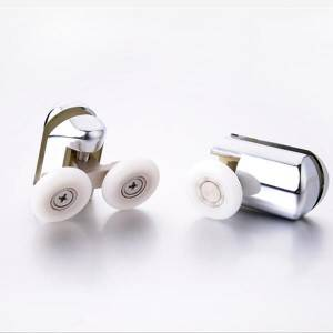 HS-059 Sliding Shower Hardware Shower Door Pulleys Rollers