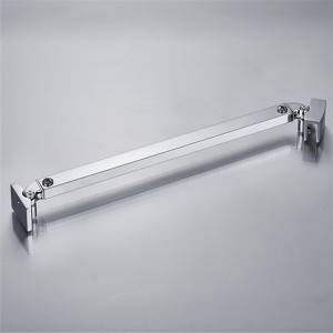 YM-078 A2 Stainless Steel Shower Support Bar For Bathroom