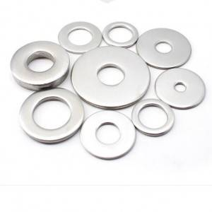Various sizes of stainless steel washer