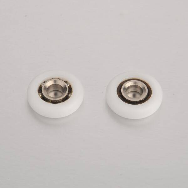 WM-025 High Quality 24mm Shower Door POM Coated Roller Bearings Featured Image