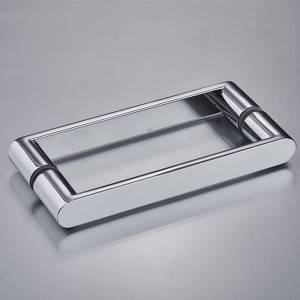 YM-058 China Manufacturer Zinc alloy Zamak Bathroom Shower Interior Pull Glass Door Handle