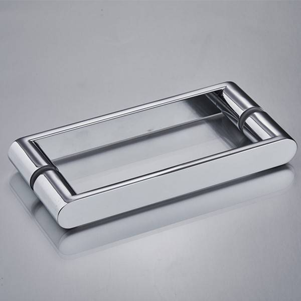 YM-058 China Manufacturer Zinc alloy Zamak Bathroom Shower Interior Pull Glass Door Handle Featured Image