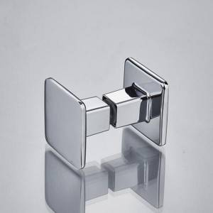 YM-076 China Supplier Zinc Alloy Shower Glass Door Pull Handle