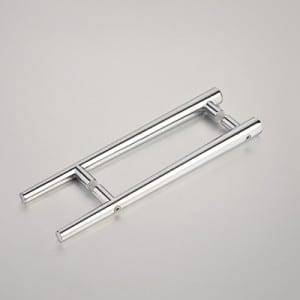 HS-080 Elegant solid zinc alloy push pull shower door handle