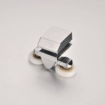 HS-020 Zinc Alloy Shower Door Twin Wheels Rollers Runner Featured Image