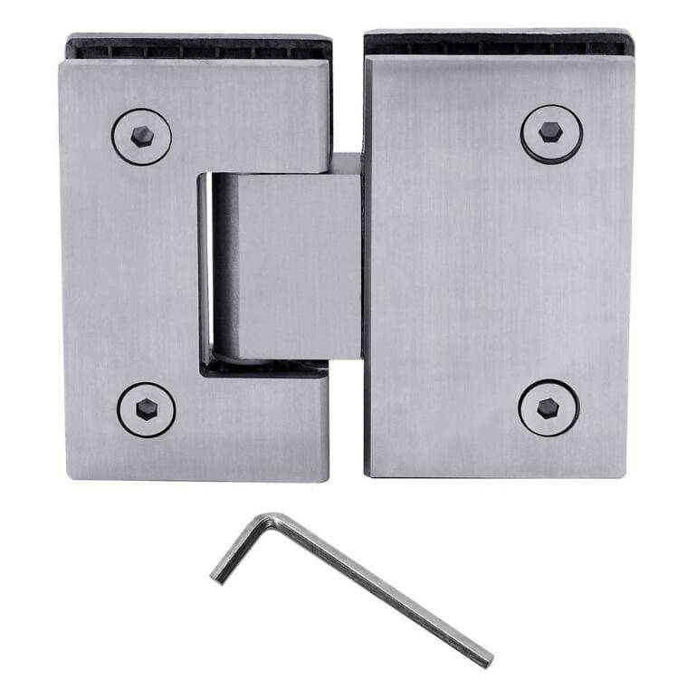 HSH-100 Stainless steel glass door hinge bathroom shower cabin Featured Image