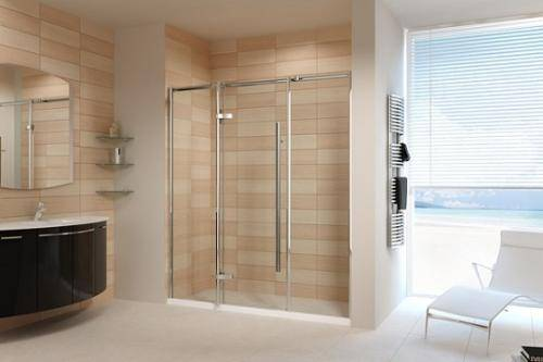 The door of the shower room should be opened inside or outside? It's not easy to have safety problems if you pay attention to it.