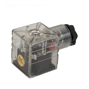 DIN 43650A PG9 M18 Solenoid valve connector LED with Indicator DC24V VOLT,AC220V VOLT